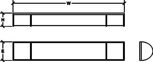 SL-BW217-LED-BN/ SL-BW225-LED-BN/ SL-BW232-LED-BN